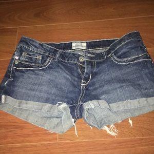 Pants - Aeropostale jean shorts!